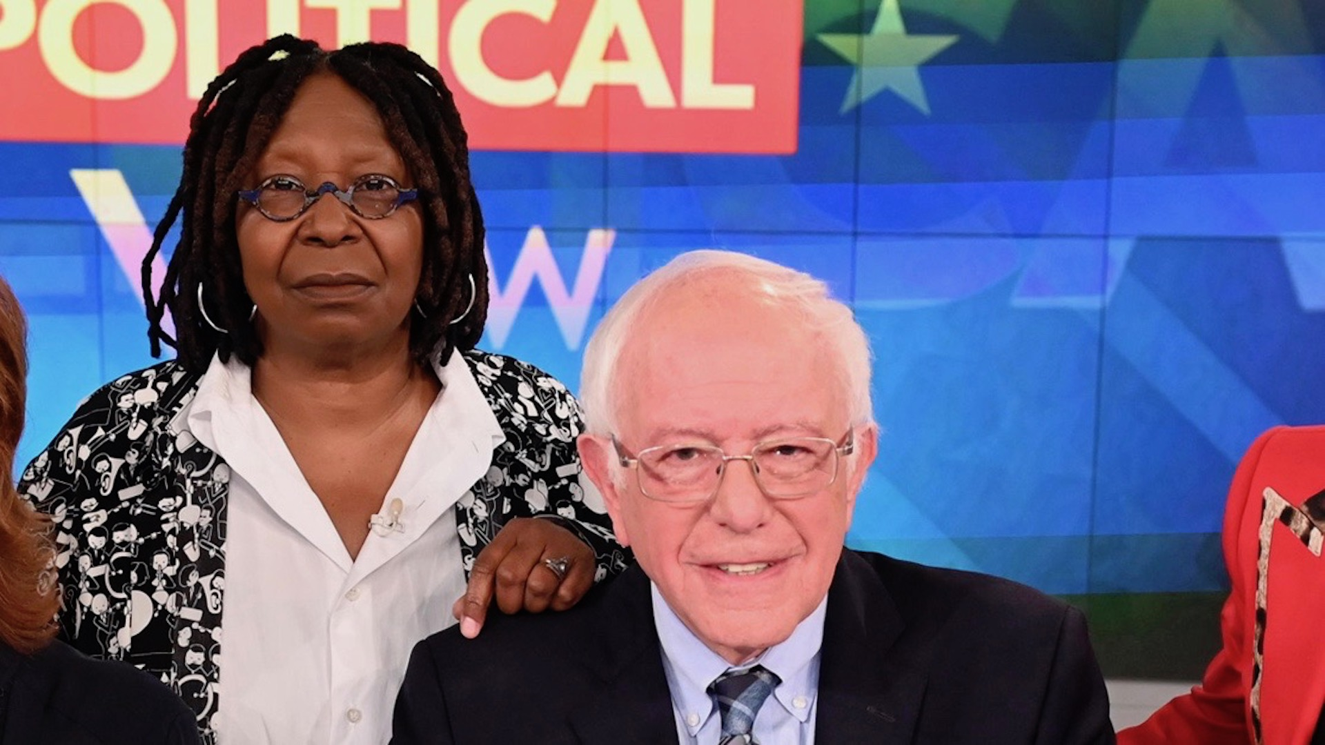 Whoopi Goldberg Grills Bernie Sanders Over His Decision to Stay in Primary Race