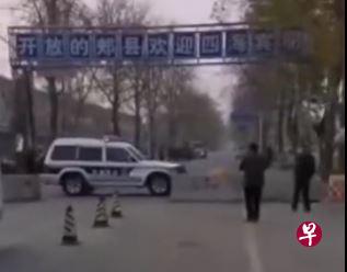 河南郏县因出现无症状感染者全面封村和小区