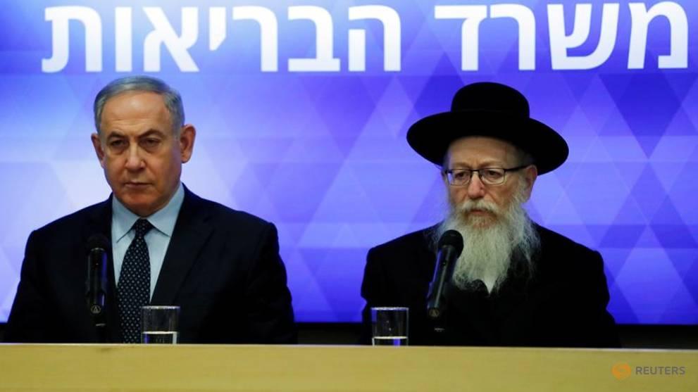 Israel's health minister diagnosed with coronavirus, Netanyahu re-enters quarantine