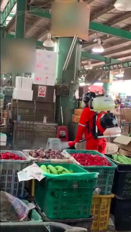 吉隆坡批发公市确诊病例累计8宗!部长突击检查惊现商贩不戴口罩不穿手套!