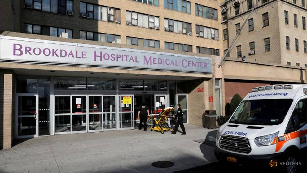 Coronavirus-infected New York nurse finds hospital transformed as a patient