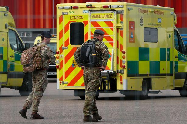 NHS Nightingale volunteers warned up to 80% of patients on ventilators will die