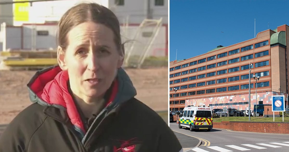'My hospital is full of 20, 30 and 40 year olds with coronavirus – stay at home'