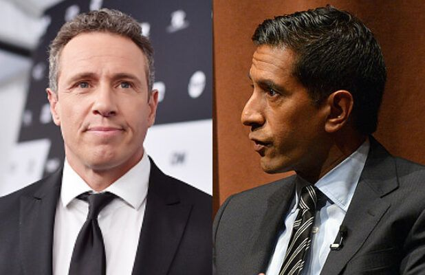 CNN's Dr. Sanjay Gupta Tells Chris Cuomo to Stop Broadcasting With Coronavirus (Video)