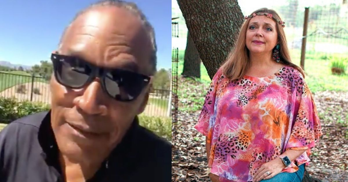In Irony Of All Ironies, Even O.J. Simpson Thinks 'Tiger King' Villain Carole Baskin Got Away With Murder