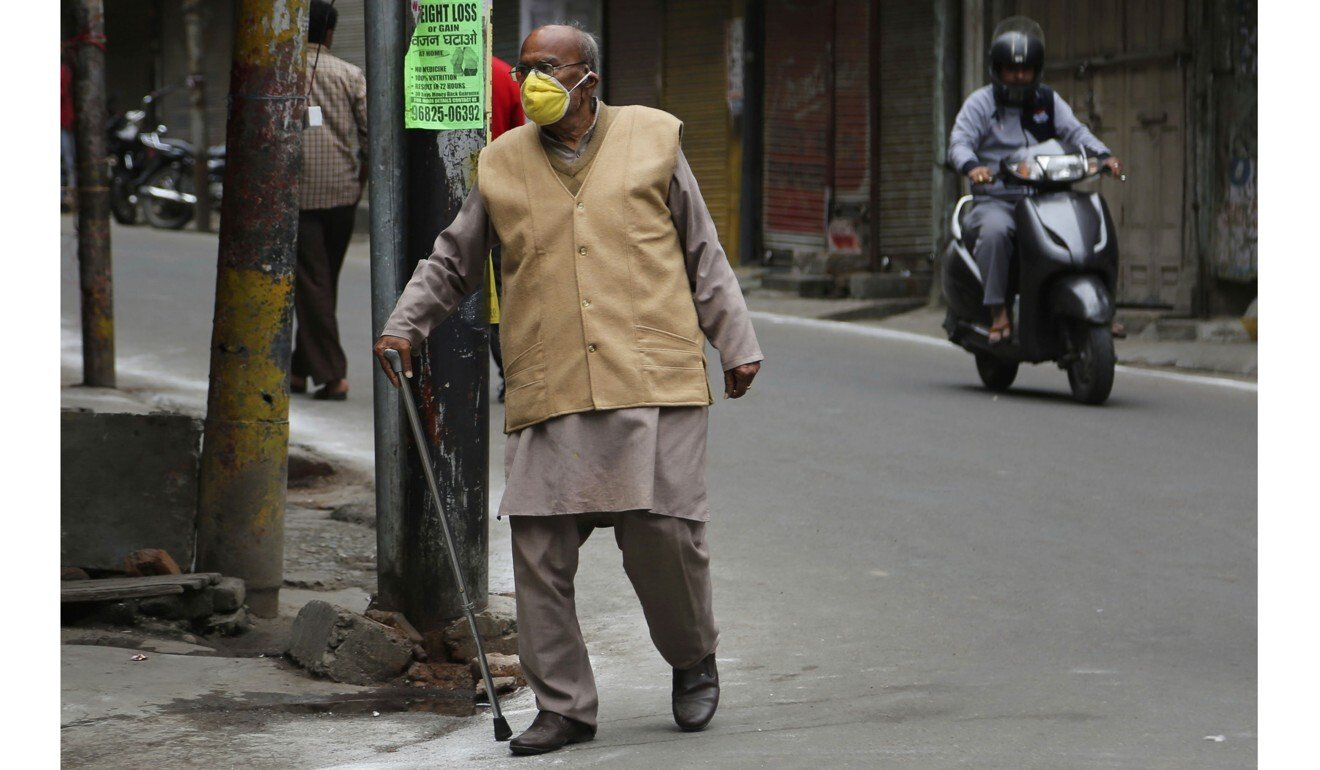 Coronavirus lockdown leaves many of India's elderly stranded without carers, family help