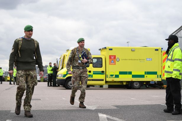 Queen thanks Army as royals say they are 'so proud' of NHS heroes fighting coronavirus