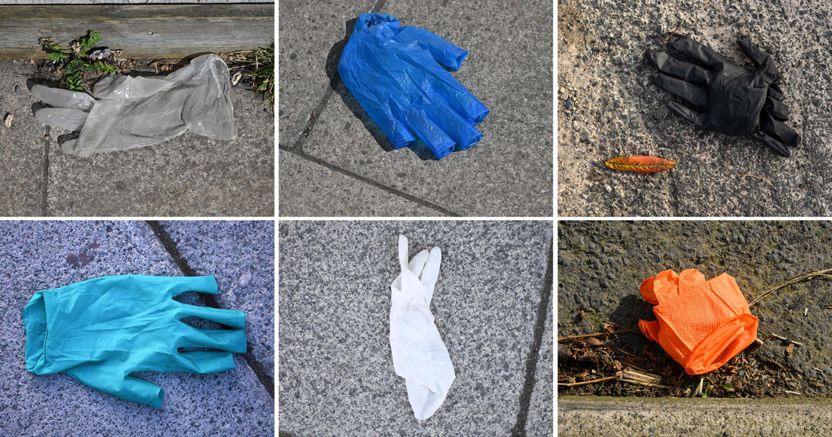 Stop Leaving Your F*cking Used Gloves Everywhere