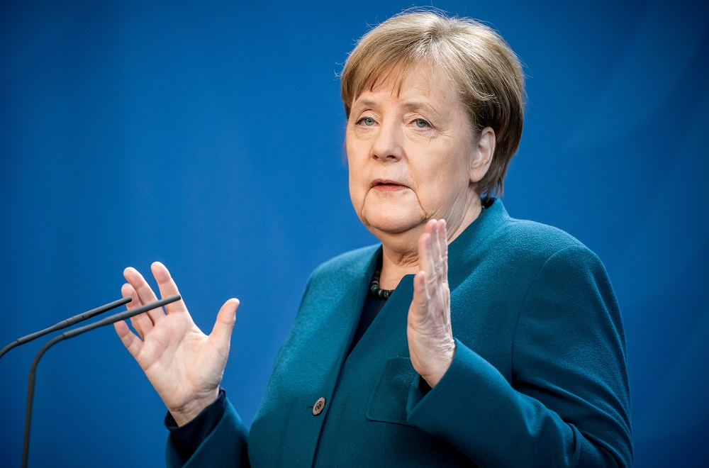 Germany's Merkel calls for human rights dialogue with China to resume