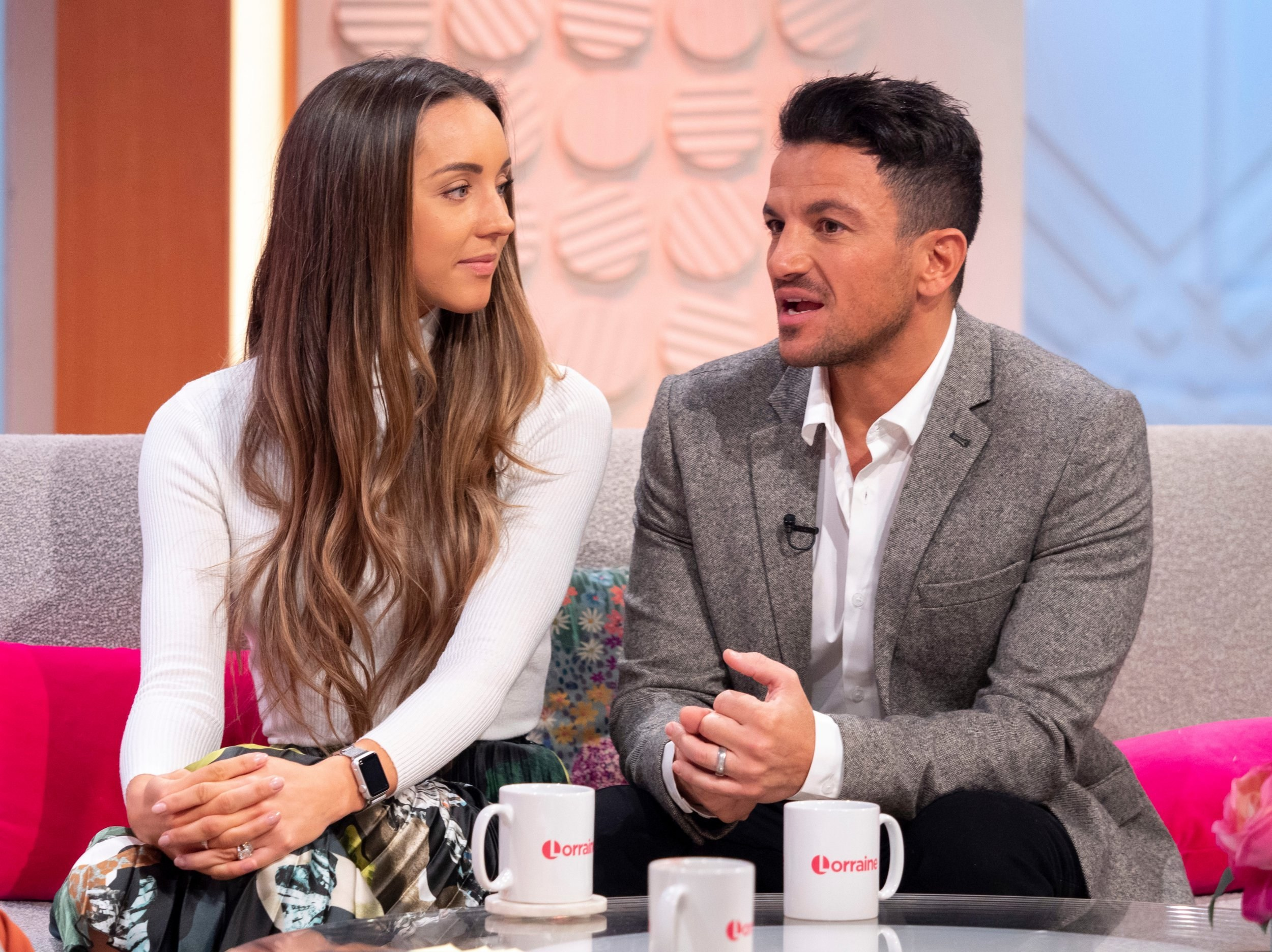 Peter Andre is having 'sleepless nights' worrying about wife Emily on coronavirus front line