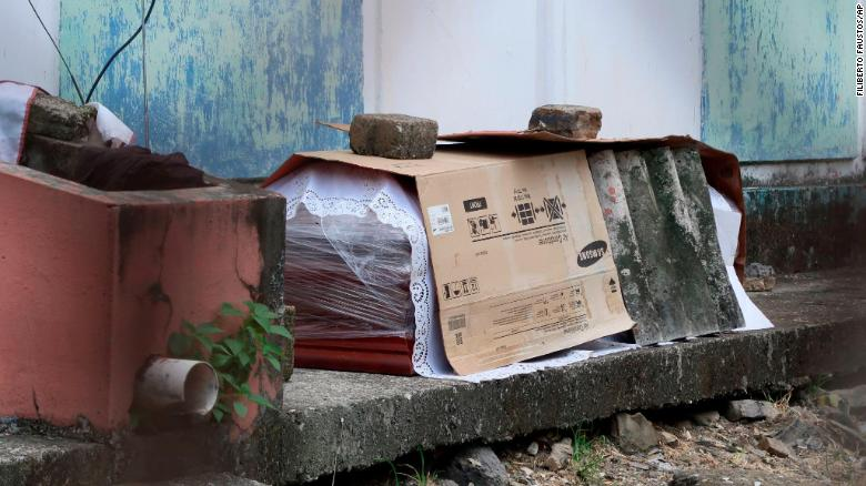 Bodies are being left in the streets in an overwhelmed Ecuadorian city