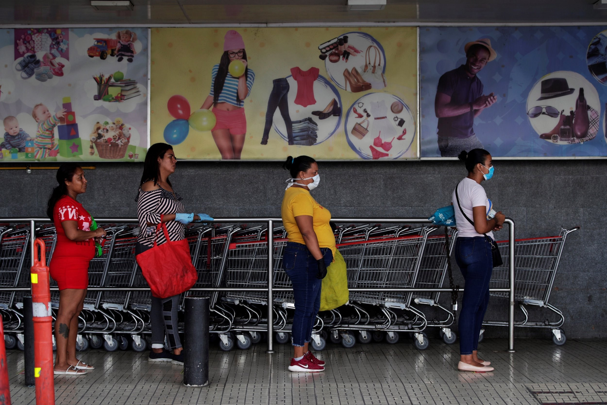Peru and Panama's lockdown only allows men and women outside on different days