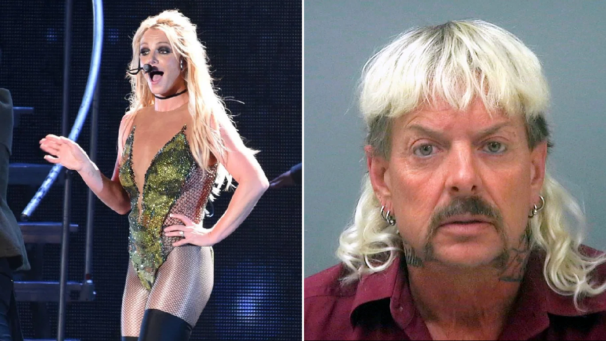 How is Britney Spears connected to Netflix's Tiger King?