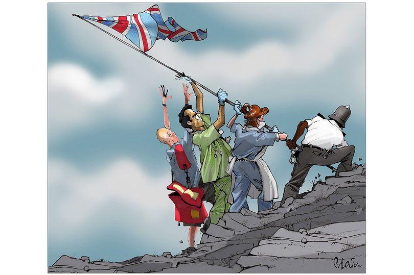 Keir Mudie: We should reward brave Brits who keep the country moving
