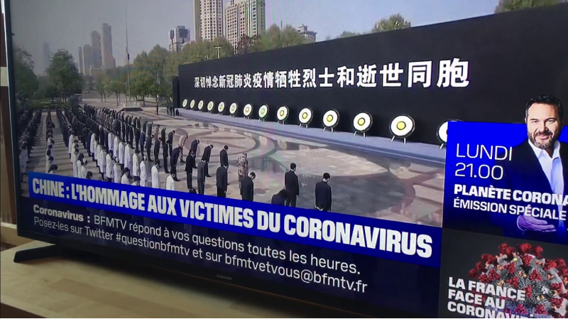 """法电视台转播中哀悼活动 · 记者:""""他们正在埋宝可梦"""""""