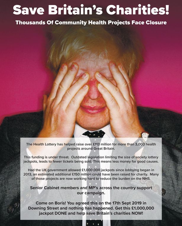 Charities demand Boris Johnson take action or thousands of health projects will close