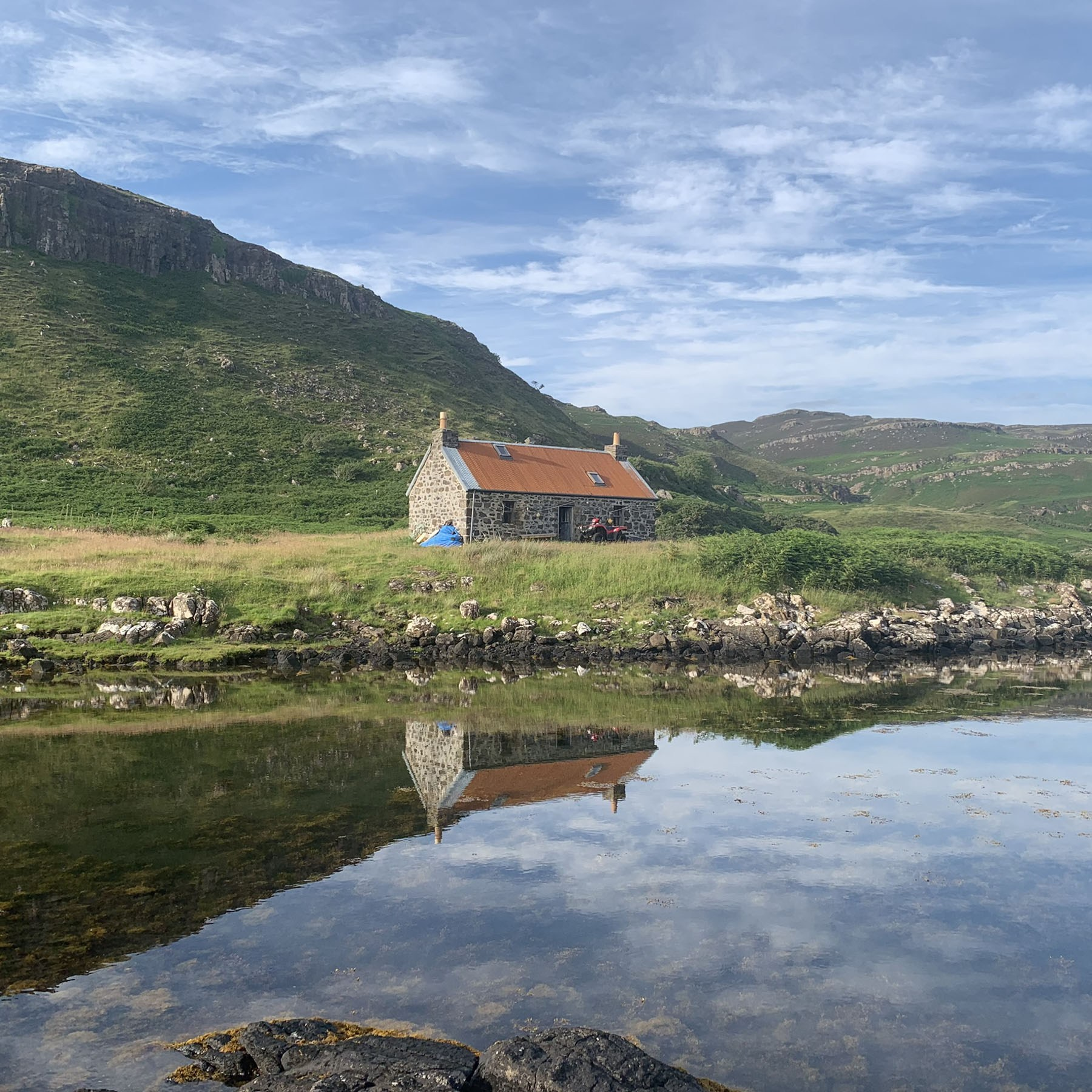 On Ulva, the Scottish island with just six residents, life goes on amid the coronavirus pandemic