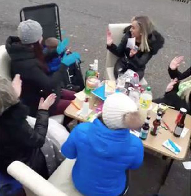 Whole street throws massive bingo party in middle of coronavirus pandemic
