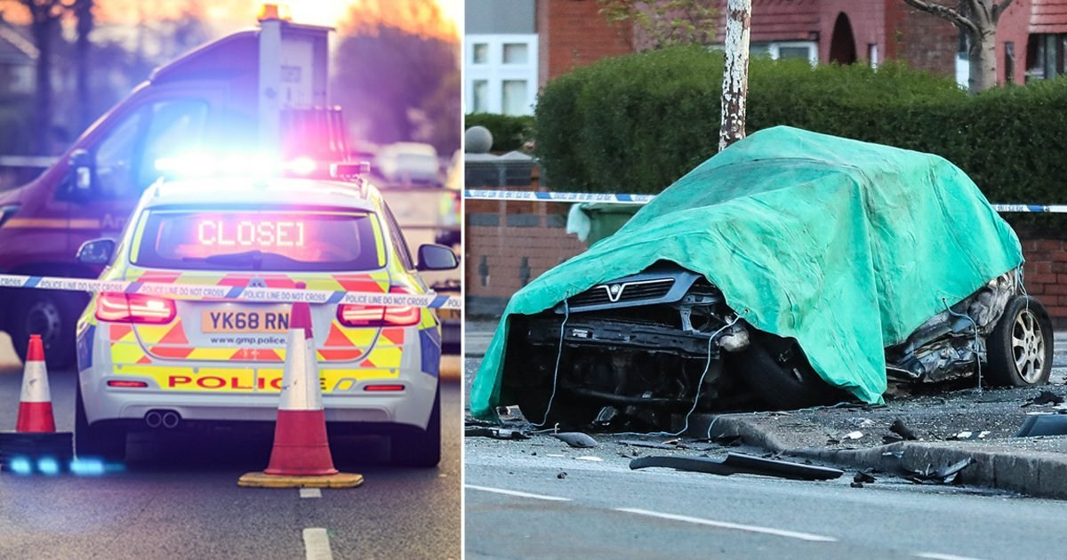 Man, 56, dead and another, 35, in hospital after horror crash