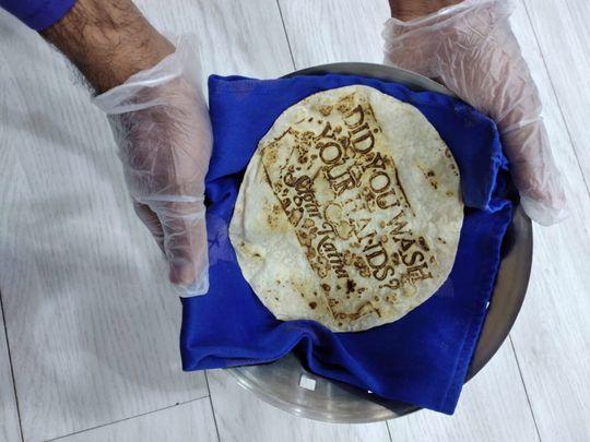 Coronavirus: How an Indian restaurant in Dubai spreads a COVID-19 prevention tip using food