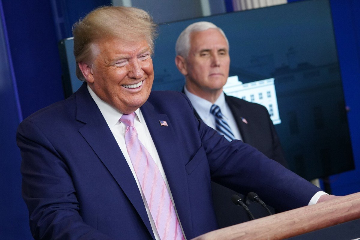 Coronavirus: how Donald Trump is using deadly crisis to push his own agenda