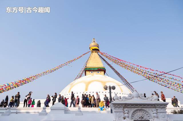 尼泊尔旅行必打卡景点:博达哈大佛塔,为全世界最大的圆佛塔