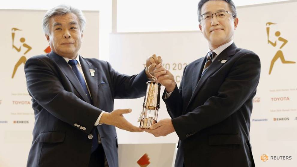 Fukushima Olympic Flame display cancelled over virus concerns