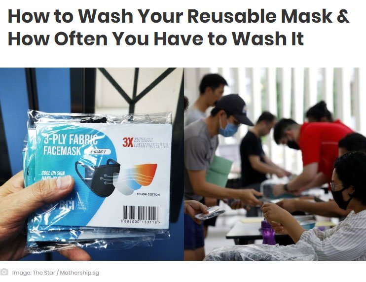 Study Shows Coronavirus Can Stay on Face Masks for Up to a Week So Wash Your Reusable Masks Often