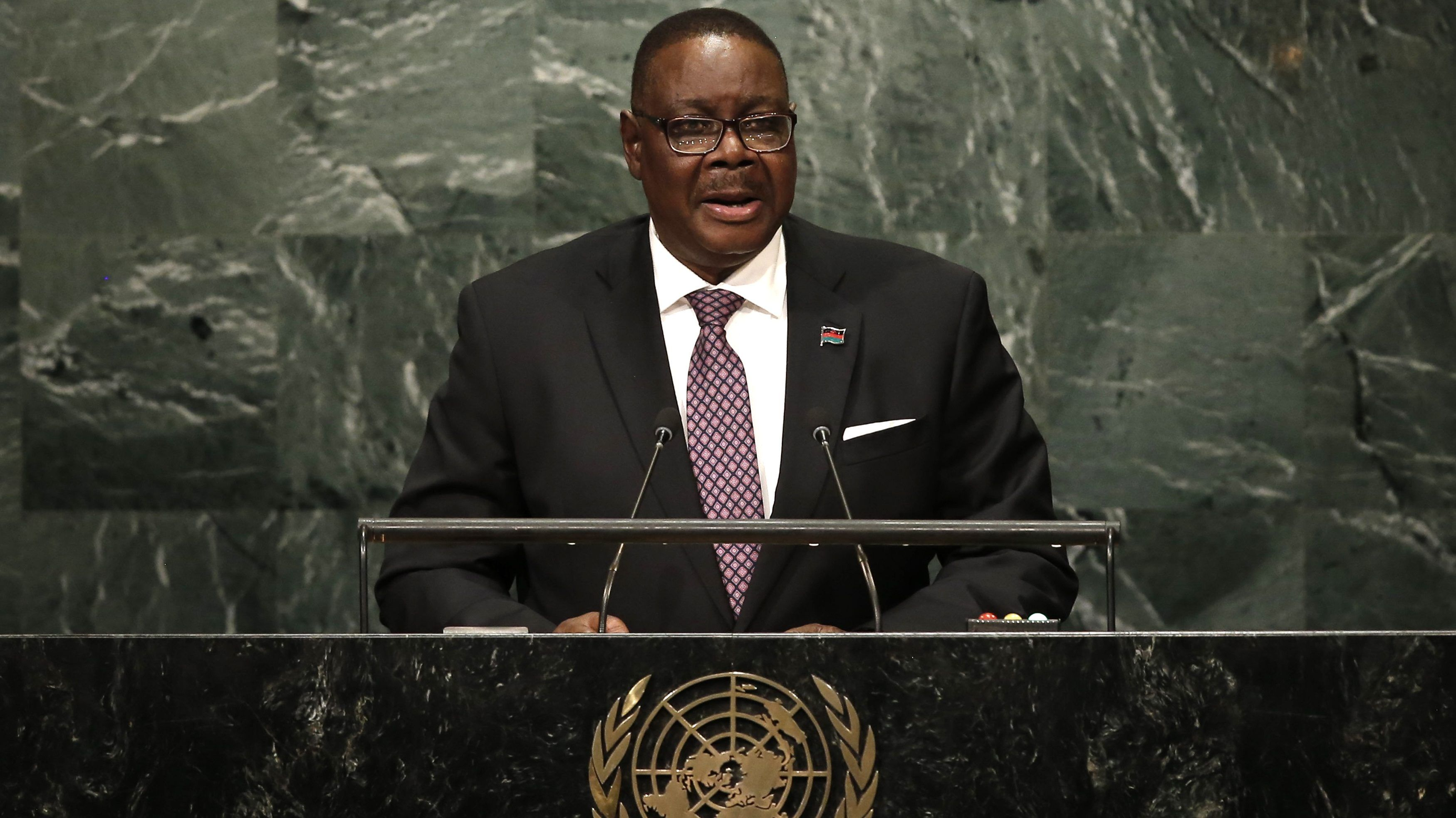 Malawi's president has taken a pay cut for a coronavirus fight even as an election do-over looms