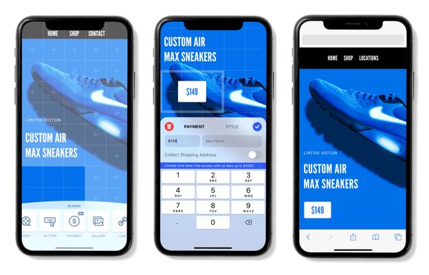 Mobile website builder Universe raises $10M from GV as it ventures into commerce