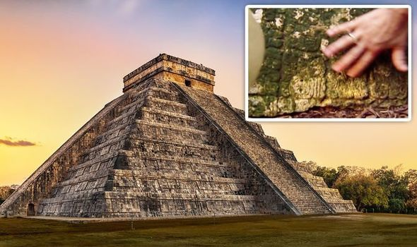 'Needle in a haystack' How archaeologists uncovered amazing hieroglyph in lost Mayan city