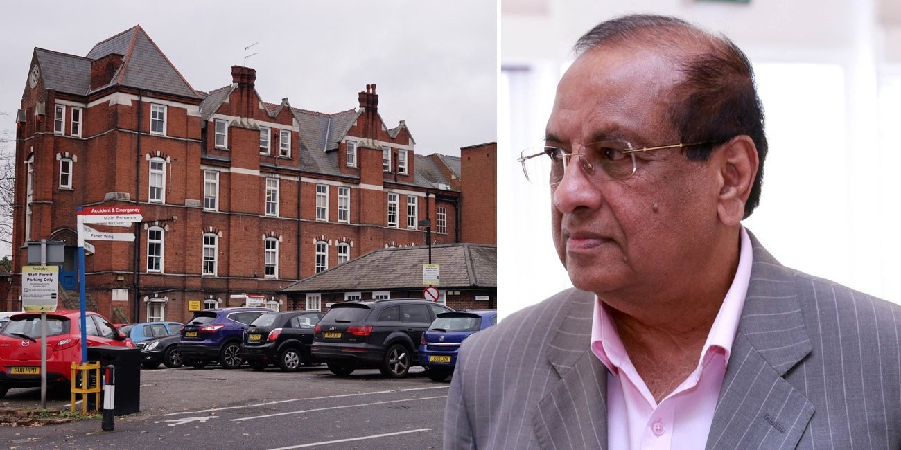Doctor specialising in elderly treatment is 13th NHS medic to die from coronavirus