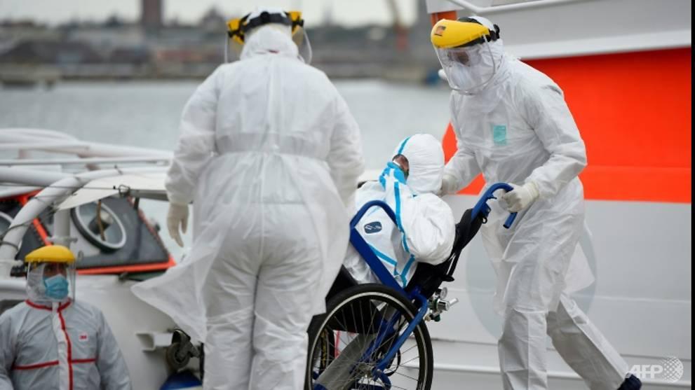Coronavirus-stricken Australian liner to dock in Uruguay