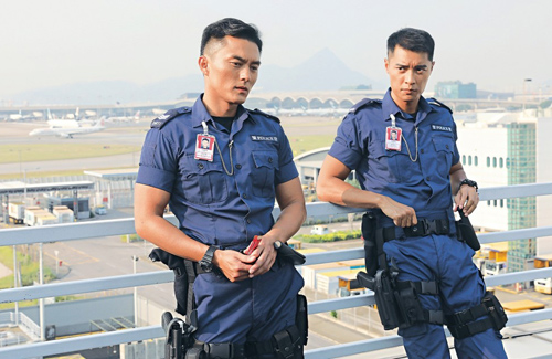 "Mat Yeung is the Most Fit in ""Airport Strikers"""