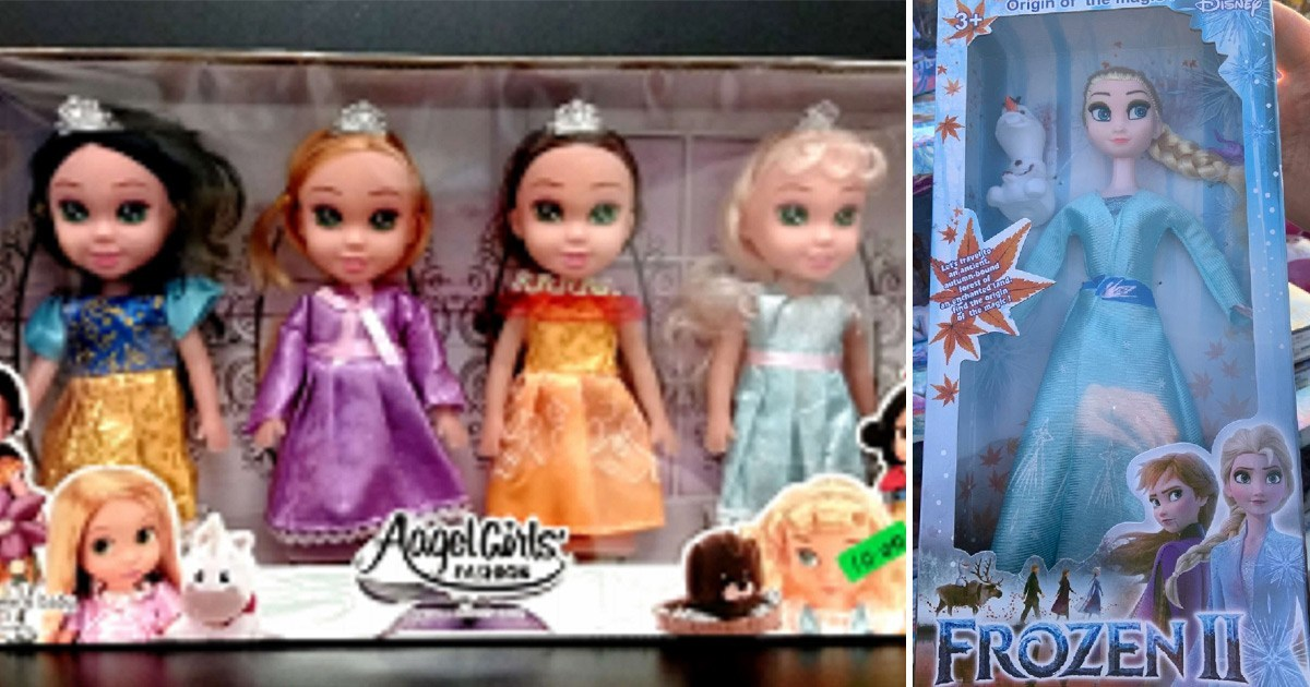 Parents warned about toxic fake Frozen dolls sold in the UK