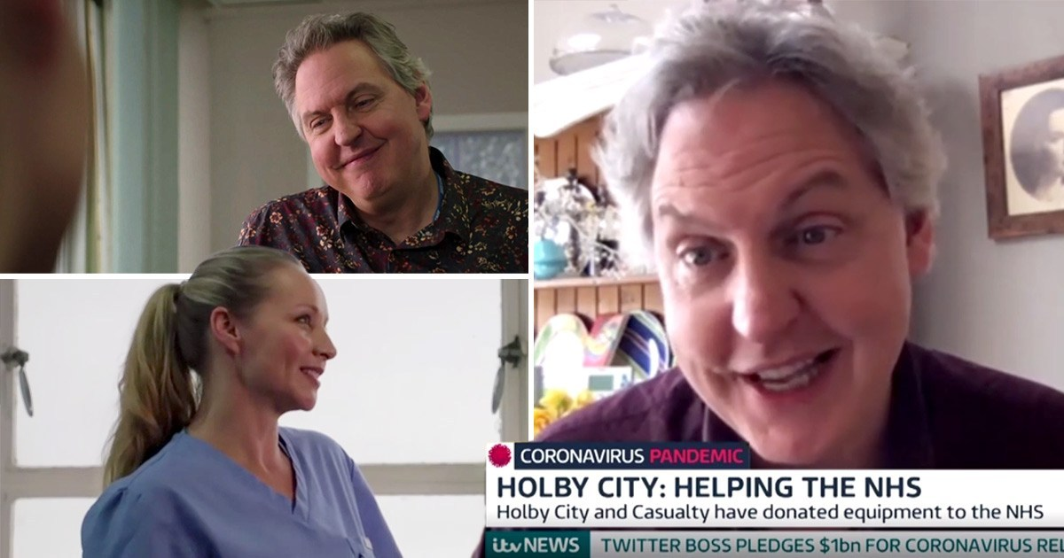 Holby City's Bob Barrett opens up on show's 'humbling' relationship with NHS workers as they donate equipment amid coronavirus