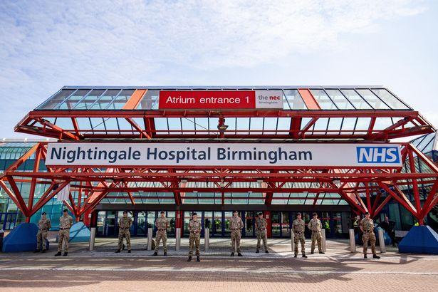 Coronavirus: Prince William praises NHS staff as he opens second Nightingale hospital