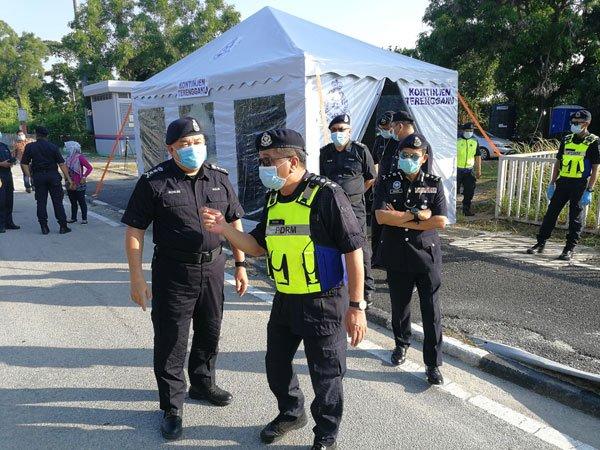"""避免由橙区转去高危红区!3 Kampung """"半封村"""",无重要事不可随意外出⚡限制4,500名居民的行动"""
