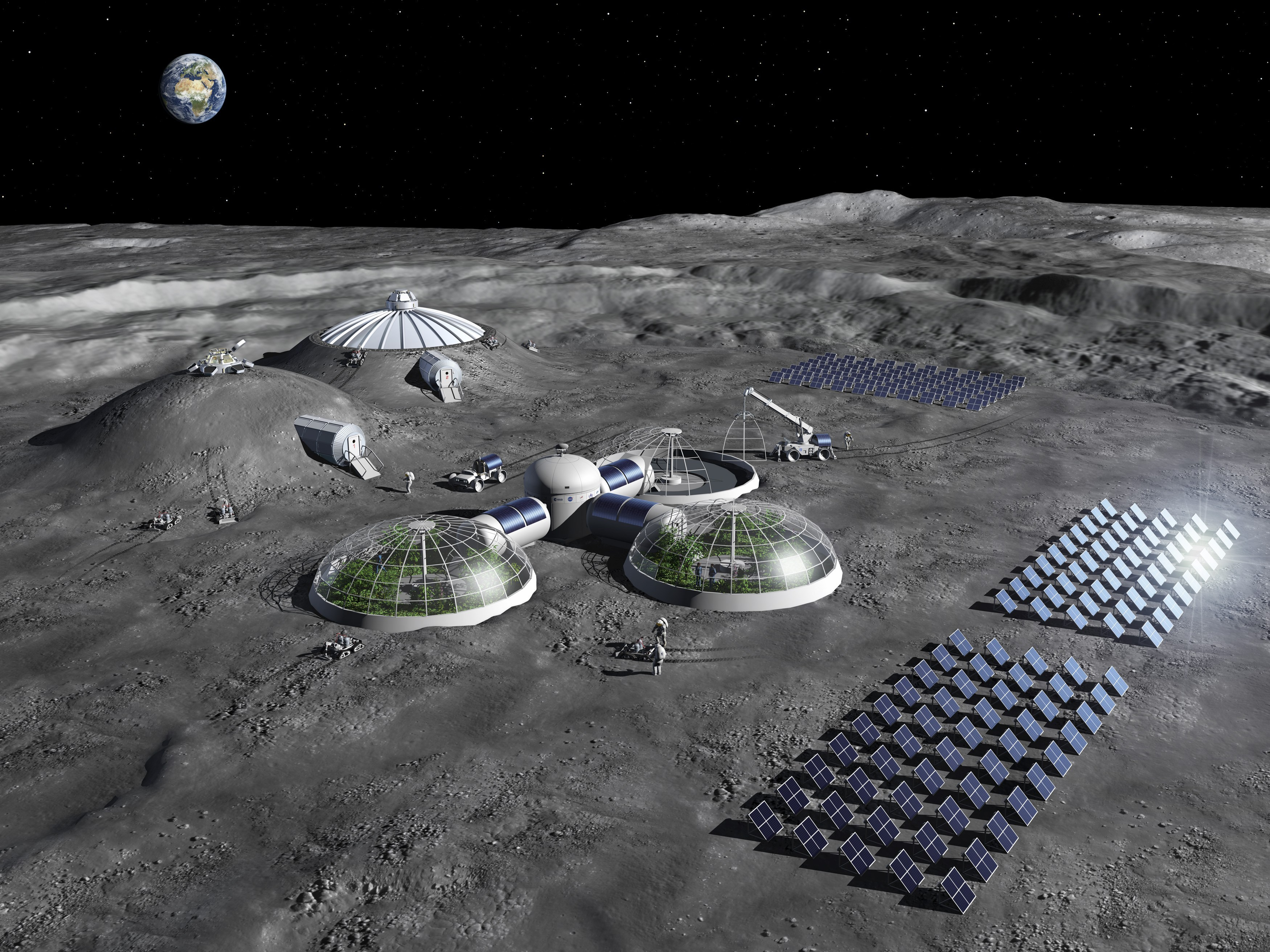 Nasa to colonise the moon with astronaut base ready for trip to Mars