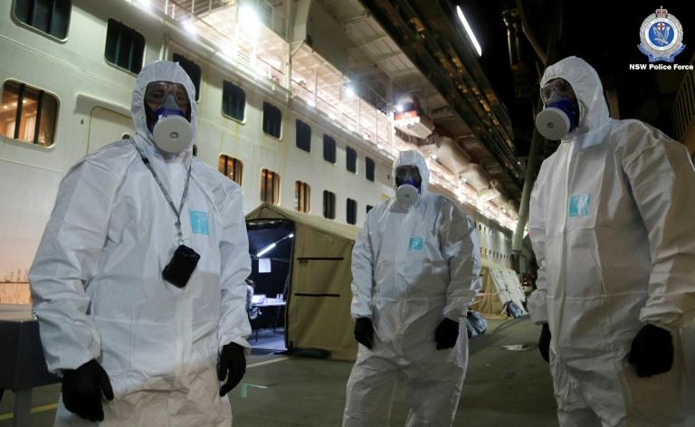 Asia virus latest: Australia raids cruise ship; Taiwan demands WHO apology