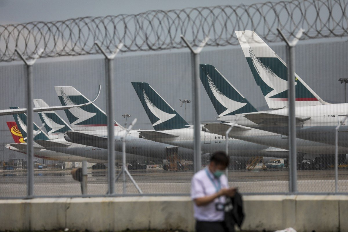 Coronavirus: Hong Kong to hand airlines including Cathay Pacific HK$268 million as Covid-19 batters travel