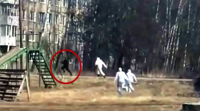 疑似患者疯狂逃跑 俄市长:是精神患者