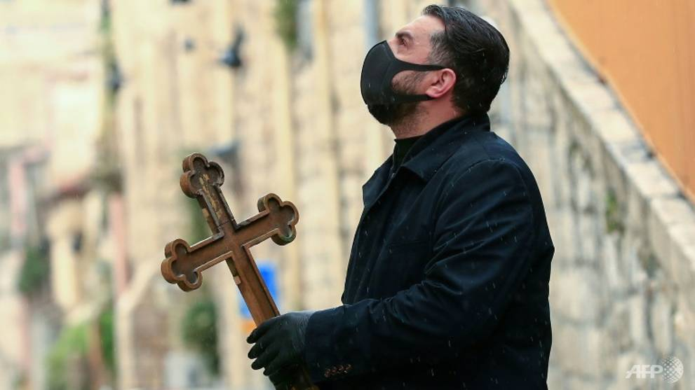 COVID-19: In Jerusalem, Christians mark a sombre Easter