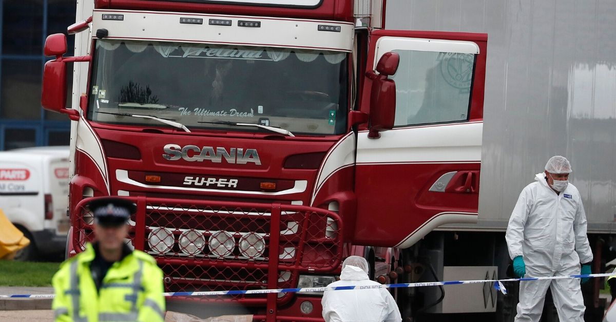 Truck driver pleads guilty to manslaughter of 39 Vietnamese migrants