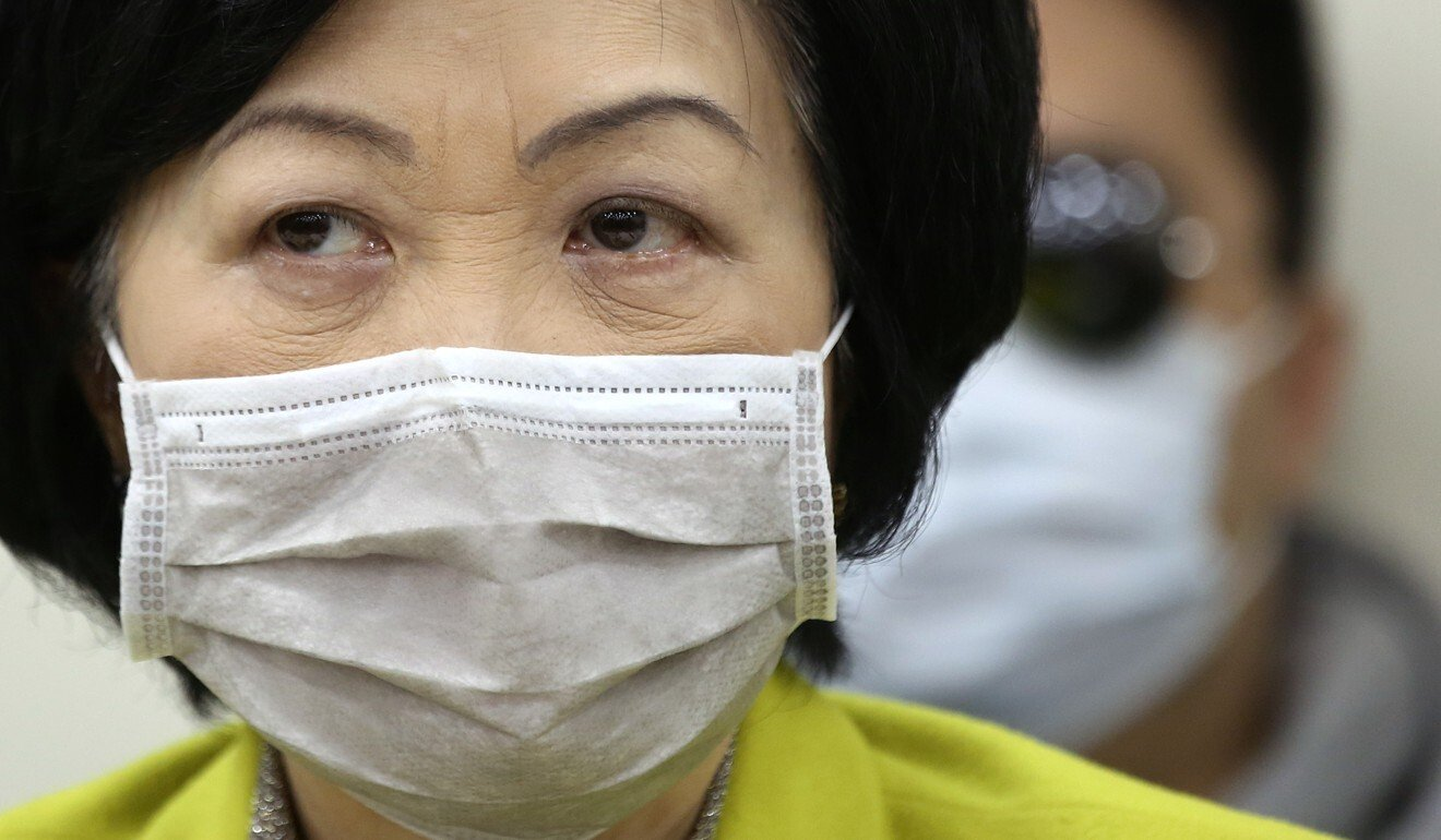 Too early to abandon Hong Kong's mask ban, government advisers say, while legal scholar suggests review is now in order
