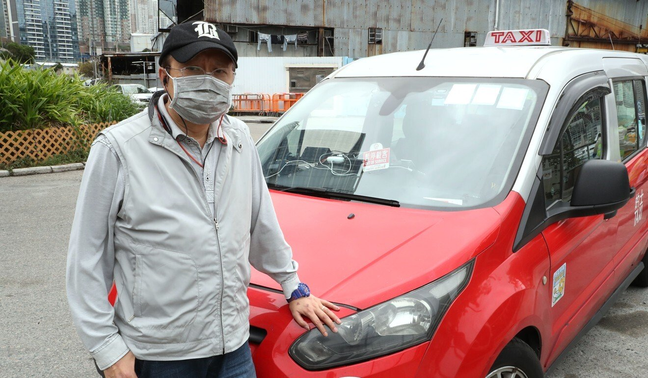 Rough ride for Hong Kong cabbies: incomes shrink as passengers stay home to avoid coronavirus