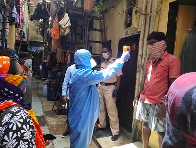 印度开始对最大贫民窟居民排查体温,100万人居住已有28人确诊