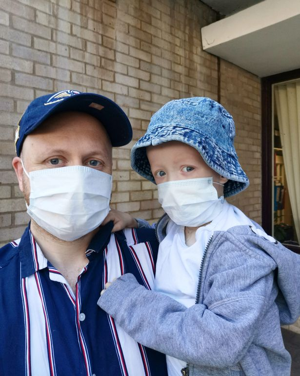 Boy, 4, beats coronavirus while also fighting cancer with gruelling chemotherapy