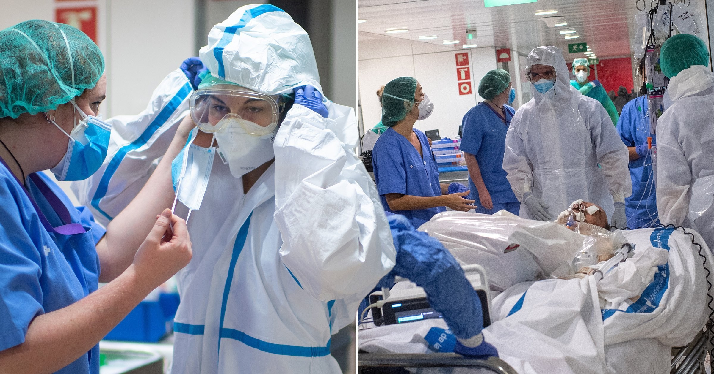 Spain sees lowest coronavirus death toll in 19 days with 510 lives lost