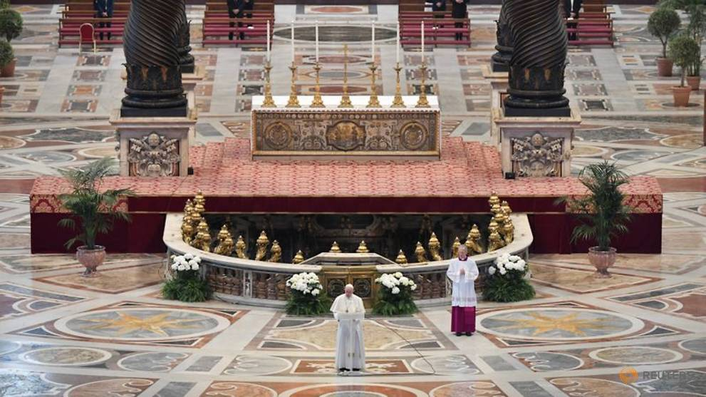 Banish 'self-centredness', Pope Francis tells the world as it faces COVID-19